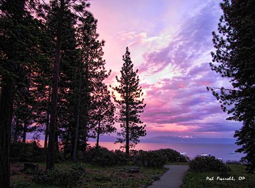 Sunrise at Lake Tahoe
