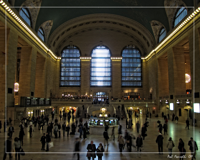 It's hard to find a place busier than Grand Central Station