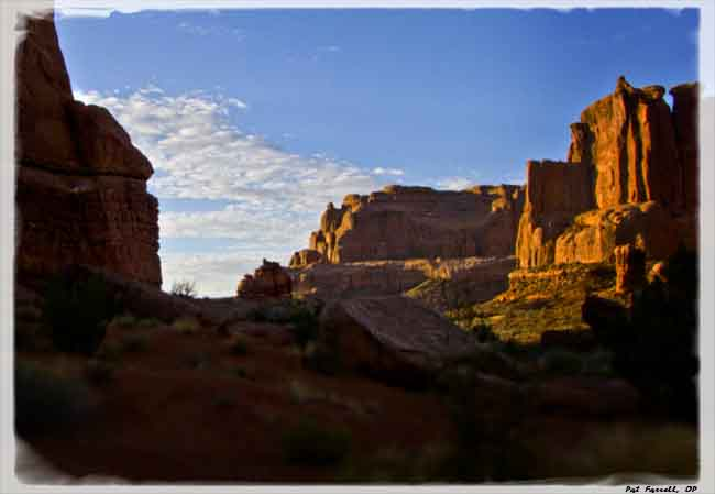 Dawn at Arches National Monument stirs the soul with freshness