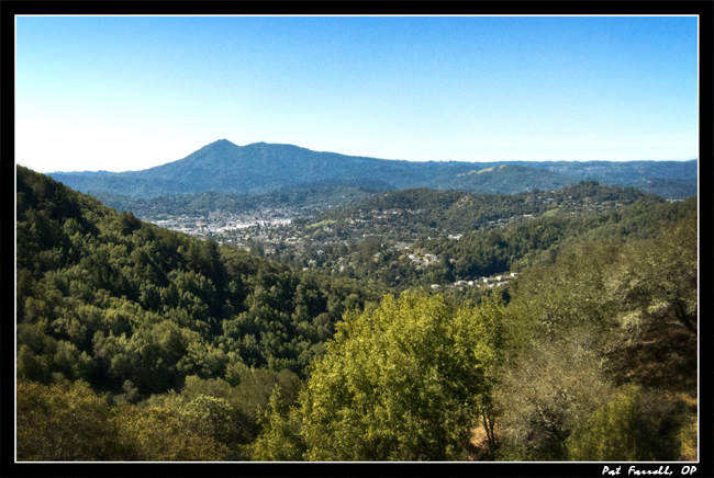 And what could delight us more than Mt. Tam in the morning?