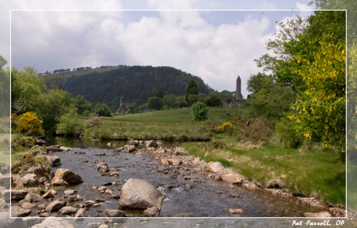 The Pollanass River at Glendalough in Ireland