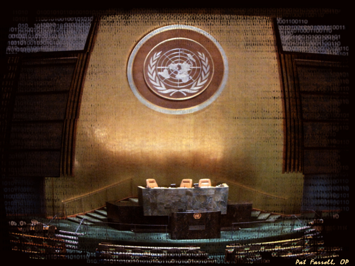 United Nations General Assembly Chambers