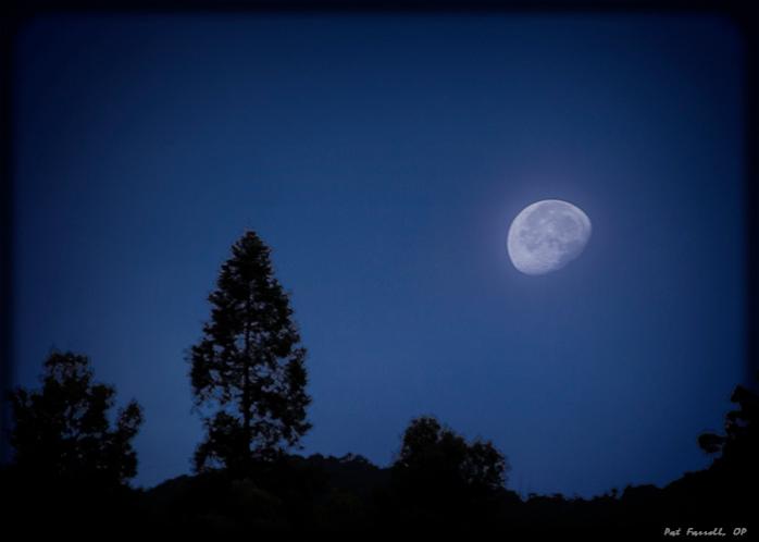 We await the fullness of time - the fullness of the moon