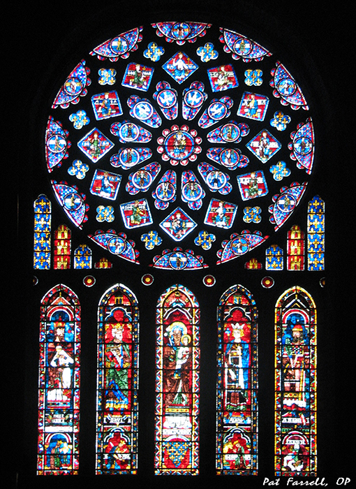 Rose window from the Cathedral of Our Lady of Chartres