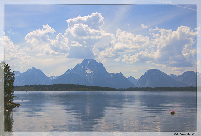 Certainly the Grand Tetons are crammed with the beauty of God